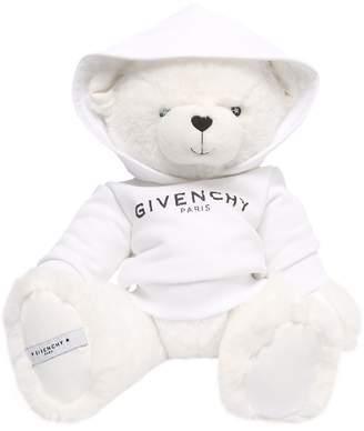 Givenchy Plush Teddy Bear With Logo Sweatshirt