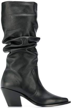 Barbara Bui pull-on knee length boots