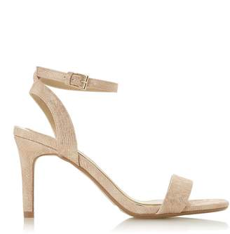 5bad8d88000e Dorothy Perkins Womens  Head Over Heels By Dune Nude  Milania  Mid Heel  Sandals