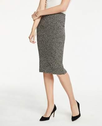 Ann Taylor Shimmer Pencil Skirt