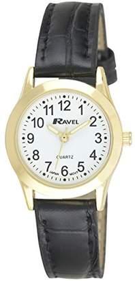 Ravel Womens Analogue Quartz Watch with PU Strap R0130.01.2