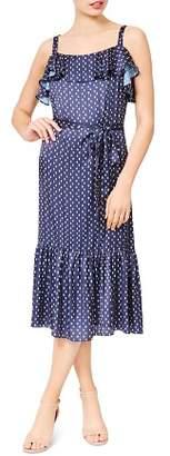 Betsey Johnson Printed Midi Dress