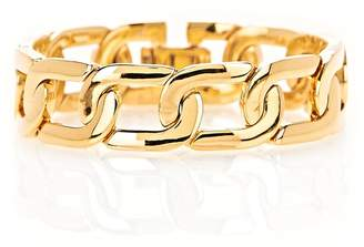 Alexander Wang Exclusive Yellow Gold Curb Chain Bracelet