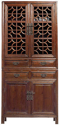 One Kings Lane Vintage Antique Chinese Fretwork Cabinet
