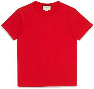 Gucci stamp cotton T-shirt