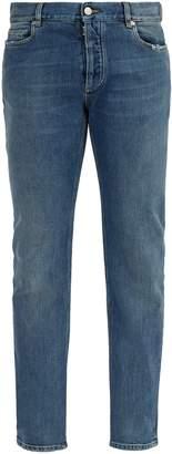 Maison Margiela Clear panel slim-leg jeans