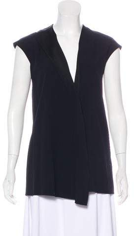Victoria Beckham Sleeveless Crepe Top w/ Tags