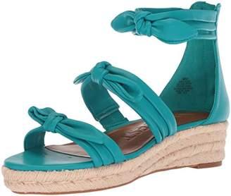 d88344e3e2 Nine West Blue Wedge Women's Sandals - ShopStyle