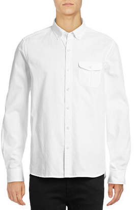 Michael Bastian Diamond Dobby Sport Shirt