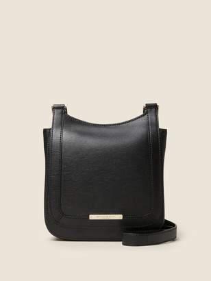 Donna Karan Donnakaran Medium Flap Sutton Leather Saddle Crossbody