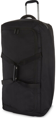 Lipault Foldable wheeled duffel bag 78cm, Black