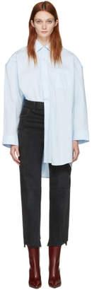 Vetements Blue Classic Football Shoulder Shirt