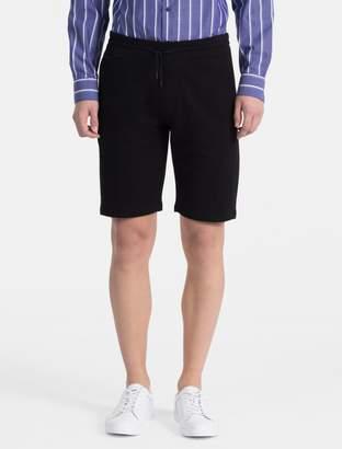 Calvin Klein french terry drawstring shorts
