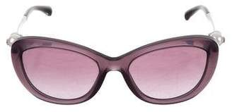 Chanel Cat-Eye Pearl Sunglasses