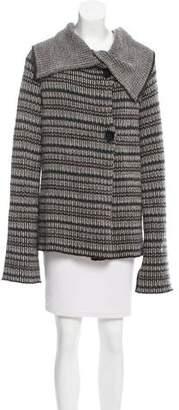 Etro Patterned Wool-Blend Cardigan
