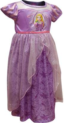 Disney Girls Rapunzel Dress Like A Princess Nightgown