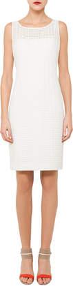 Akris Sleeveless Silk Cotton Sheath Dress