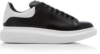 Alexander McQueen Leather Low-Top Sneakers