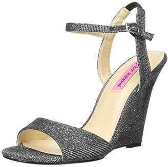 Betsey Johnson Women's Duane Wedge Sandal,6.5 M US