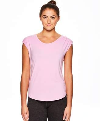Gaiam Women's Reflection Short Sleeve Yoga Top