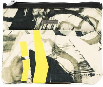 M·A·C Mara Mac abstract print make up bag