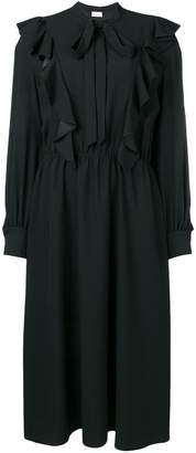 Giamba ruffled midi dress