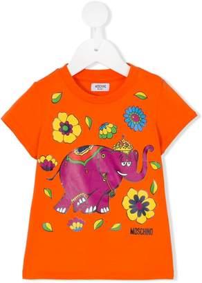 Moschino Kids elephant T-shirt