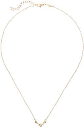 Jacquie Aiche Emily Three Diamond Necklace