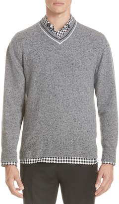 Ermenegildo Zegna Trim Fit V-Neck Wool & Cashmere Sweater