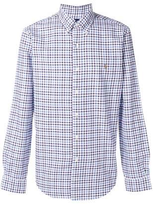 Polo Ralph Lauren button-down checked logo shirt