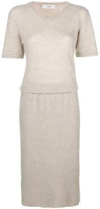 Pringle short-sleeve sweater dress