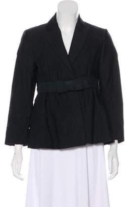 Stella McCartney Structured Linen-Blend Jacket