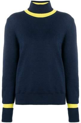 Maison Margiela (メゾン マルジェラ) - Maison Margiela コントラスト セーター