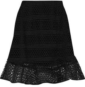 Raoul Lace Mini Skirt