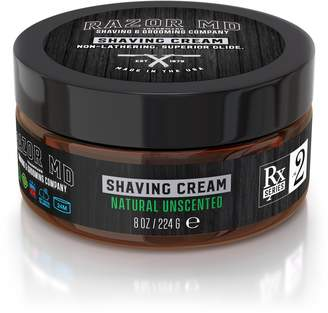 Razor Md® Natural Unscented Shave Cream 2 Pack