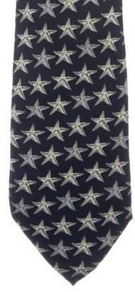 Fendi Silk Print Tie