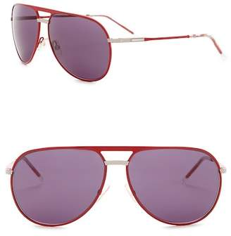 Christian Dior 61mm Aviator Sunglasses
