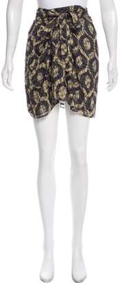 Isabel Marant Abstract Print Mini Skirt