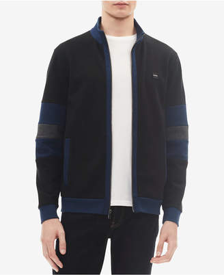 Calvin Klein Men's Colorblocked Contrast Jacket