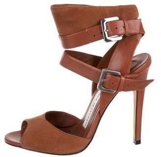 Camilla Skovgaard Leather Ankle Strap Sandals