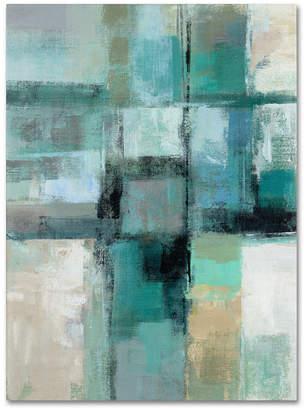 """Trademark Global Silvia Vassileva 'Island Hues Crop I' 35"""" x 47"""" Canvas Wall Art"""