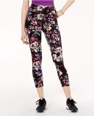 Material Girl Active Juniors' Printed Cropped Leggings, Created for Macy's