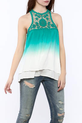 Entro Ombre Lace Top