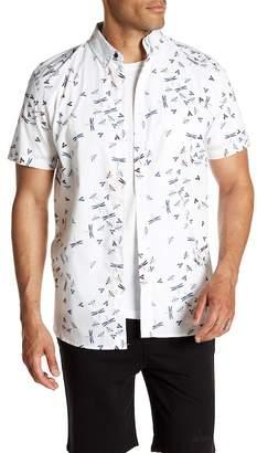 Sovereign Code Elton Short Sleeve Print Regular Fit Shirt