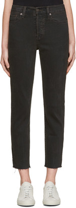 Levi's Grey Wedgie Fit Jeans $85 thestylecure.com