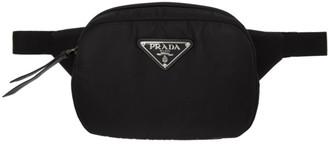 Prada Black Padded Belt Bag