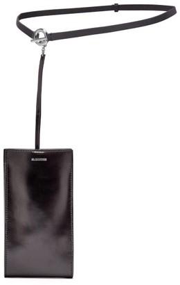 Jil Sander Iphone Case Leather Belt Bag - Womens - Black