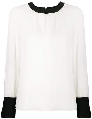 Edward Achour Paris panelled blouse