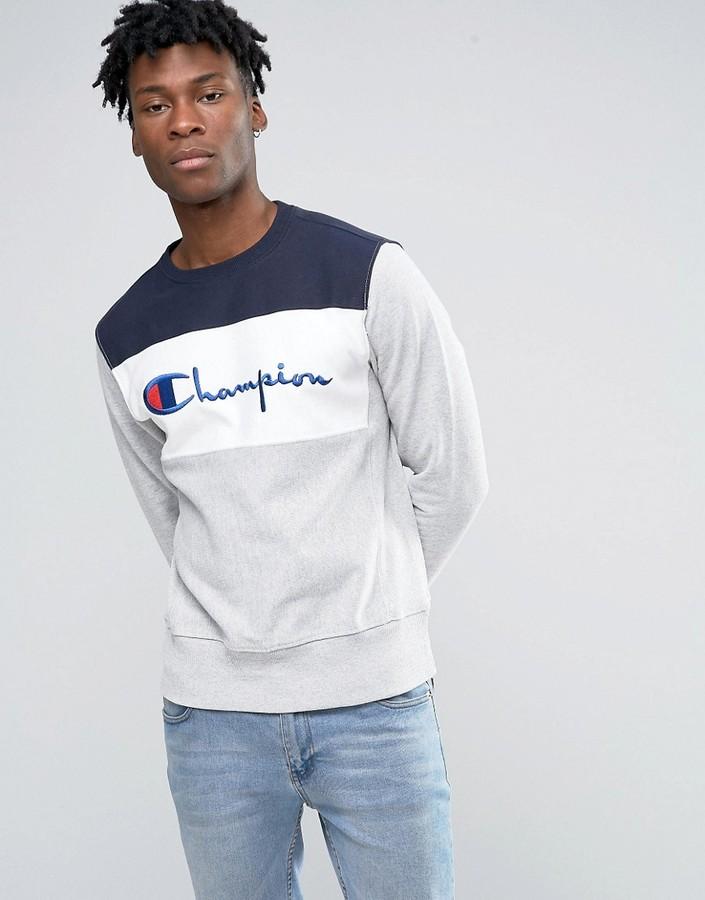 Champion Sweatshirt With Script Logo