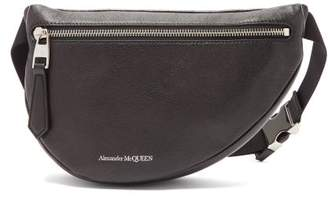 Alexander McQueen Mini Leather Cross Body Bag - Mens - Black